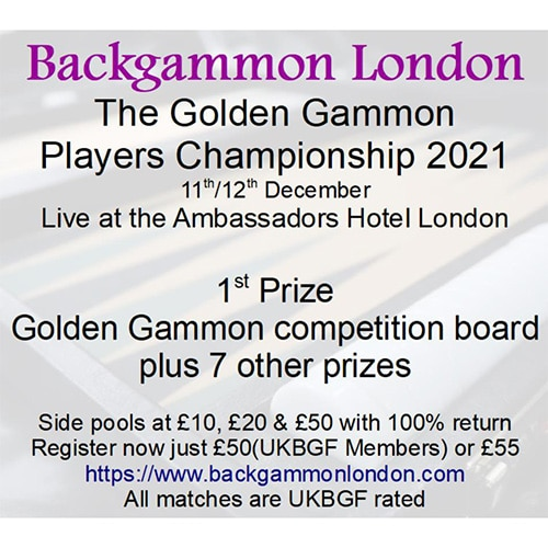Golden Gammon Players Championship